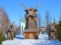 Чистополь, улица 40 лет Победы. парк Мельничный