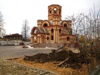 Чистополь, улица Нариманова. строящееся здание