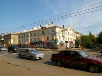 Ufa, Ayskaya st, house 76. Apartment house with a store on the ground-floor