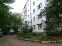 Ufa, 50 let Oktyabrya st, house 5. Apartment house with a store on the ground-floor