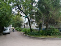 Ufa, 50 let Oktyabrya st, house 7. Apartment house with a store on the ground-floor