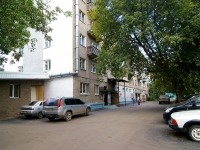 Ufa, 50 let Oktyabrya st, house 14. Apartment house with a store on the ground-floor