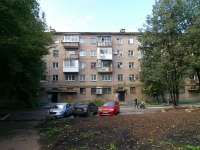 Ufa, 50 let Oktyabrya st, house 18. Apartment house with a store on the ground-floor