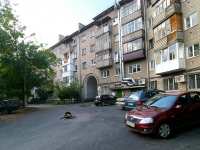 Ufa, 50 let Oktyabrya st, house 20. Apartment house with a store on the ground-floor