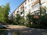 Ufa, 50 let Oktyabrya st, house 26. Apartment house with a store on the ground-floor