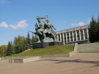 Ufa, monument Памятник героям Октябрьской революции и гражданской войны50 let Oktyabrya st, monument Памятник героям Октябрьской революции и гражданской войны