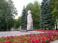 Уфа, памятник Шагиту Худайбердинуулица 50 лет Октября, памятник Шагиту Худайбердину