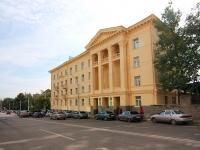 Уфа, улица Коммунистическая, дом 52А. общежитие Башкирского кооперативного техникума