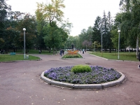 Уфа, улица Коммунистическая. сквер им. В.В. Маяковского