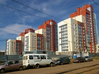 Ufa, st Revolyutsionnaya, house 68. Apartment house