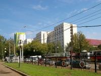 Уфа, улица Мингажева, дом 138. общежитие