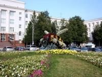 Ufa, square СоветскаяSovetskaya st, square Советская