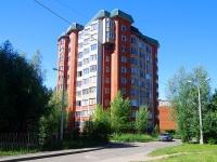 Чебоксары, улица Афанасьева, дом 9 к.1. многоквартирный дом