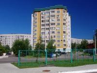Чебоксары, улица Афанасьева, дом 9 к.4. многоквартирный дом
