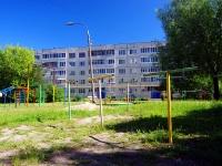 Чебоксары, улица Афанасьева, дом 10. многоквартирный дом