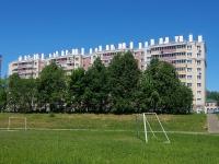 Чебоксары, улица Пирогова, дом 1 к.1. многоквартирный дом