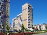 Чебоксары, улица Пирогова, дом 1 к.3. многоквартирный дом