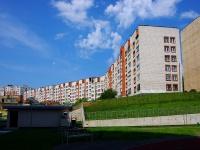 Чебоксары, улица Пирогова, дом 2. многоквартирный дом