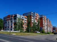 Чебоксары, улица Пирогова, дом 4 к.2. многоквартирный дом