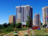 Чебоксары, улица Радужная, дом 10 к.1. многоквартирный дом