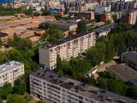 Чебоксары, улица Красина, дом 14. многоквартирный дом