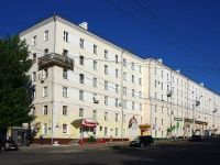 Чебоксары, Ленина проспект, дом 21. многоквартирный дом