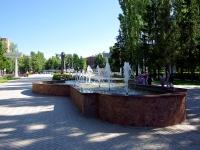 """Московский проспект. фонтан в парке """"Амазония"""""""