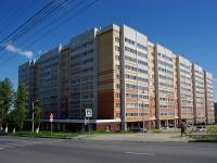 Чебоксары, улица Николая Рождественского, дом 1. многоквартирный дом