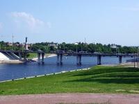Чебоксары, Президентский бульвар. мост Московский