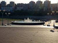Чебоксары, Президентский бульвар. фонтан