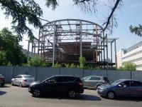 Чебоксары, Президентский бульвар. строящееся здание