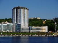 площадь Речников, дом 5. порт Чебоксарский речной порт