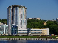 , square Rechnikov, house 7 к.1. Apartment house