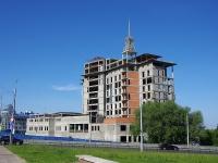 , st Nizhegorodskaya. building under construction