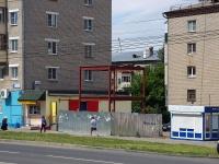 Чебоксары, улица Юрия Гагарина. строящееся здание