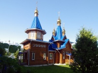 Чебоксары, улица Михаила Сеспеля, дом 16. храм в честь Владимирской иконы Божией Матери