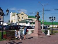Чебоксары, улица Михаила Сеспеля. Бюст  Екатерины II Великой
