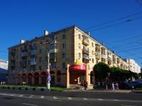 Чебоксары, улица Ленинградская, дом 27. многоквартирный дом
