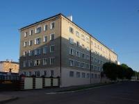 Чебоксары, улица Ленинградская, дом 37. общежитие