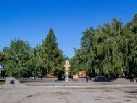 улица Георгия Исакова. аллея Победы