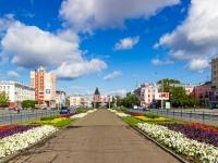 Барнаул, Ленина проспект. бульвар на проспекте Ленина