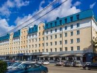"""Барнаул, Социалистический проспект, дом 116. гостиница (отель) """"Сибирь"""""""