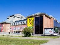 Комсомольский проспект, дом 108. театр Алтайский краевой государственный театр музыкальной комедии