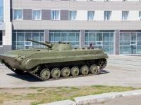 Барнаул, Комсомольский проспект. памятник Боевая машина пехоты