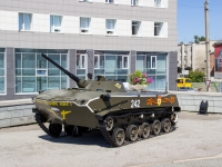 Барнаул, Комсомольский проспект. памятник Боевая машина десанта