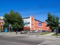 Барнаул, улица Партизанская, дом 56. институт Барнаульский юридический институт МВД России