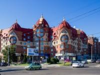 Барнаул, улица Партизанская, дом 81. многоквартирный дом