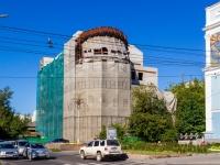 Барнаул, улица Партизанская, дом 60. строящееся здание долгострой