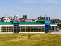 """Барнаул, площадь Баварина, дом 17. гостиница (отель) """"Обской мост"""""""