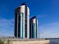 Барнаул, улица Приречная, дом 5. многоквартирный дом